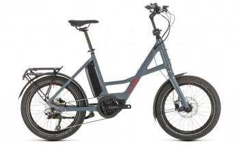 """Cube 20"""" Compact Sport Hybrid blue´n´red 2020 (20 Zoll) / 389160"""