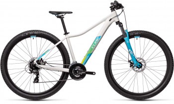 "Cube Access WS white´n´blue 2021 Einsteiger Damen MTB 425110 / 29: (17"") M"