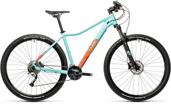 Cube Access WS Pro iceblue´n´orange 2021 Damen