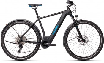 Cube Cross Hybrid Race 625 Allroad black´n´blue 2021 (58 cm) L / 430252