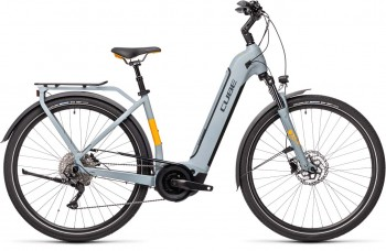 Cube Touring Hybrid Pro 625 grey´n´orange 2021 Easy Entry