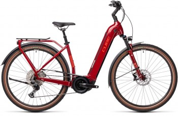 Cube Touring Hybrid EXC 625 red´n´grey 2021 Easy Entry 431162 / (54 cm) M