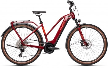 Cube Touring Hybrid EXC 625 red´n´grey 2021 Trapez 431162 / (54 cm) M