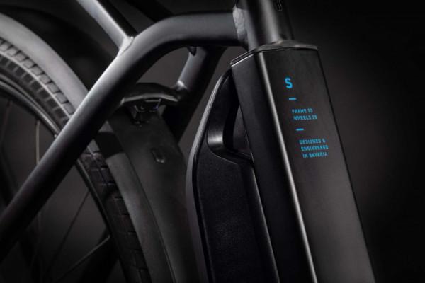 Cube Town Hybrid Pro 500 black´n´blue 2021 (46 cm) XS / 432101