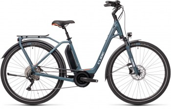 Cube Town Sport Hybrid Pro 500 blue´n´red 2021 432411 / (46 cm) XS