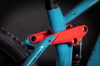 "Cube Stereo Hybrid 160 HPC Race 625 27.5 blue´n´red 2021 436572 / 27.5: (16"") S"