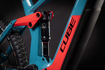 "Cube Stereo Hybrid 160 HPC Race 625 27.5 blue´n´red 2021 436572 / 27.5: (20"") L"