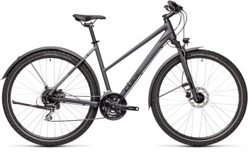 Cube Nature Allroad iridium´n´black 2021 Trapez (46 cm) XS / 446100