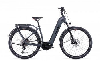 Cube Touring Hybrid EXC 625 grey´n´red 2022 Easy Entry