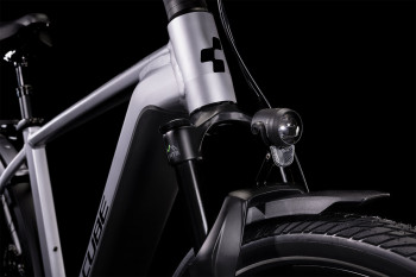 Cube Kathmandu Hybrid SL 750 polarsilver´n´black 2022 Easy Entry