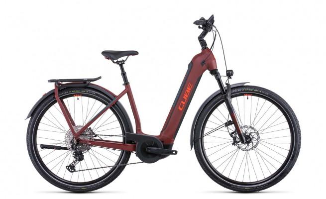 Cube Kathmandu Hybrid SL 750 darkred´n´red 2022 Easy Entry 531313 / (50 cm) S