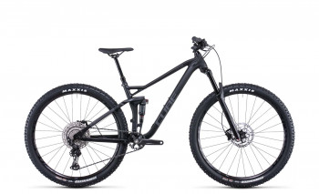 """Cube Stereo 120 Race black anodized 2022 553200 / 29: (22"""") XL"""