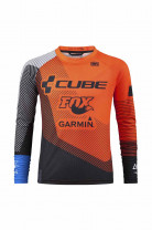 CUBE JUNIOR EDGE Trikot langarm X Action Team #10737