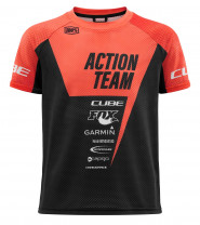 CUBE JUNIOR Trikot kurzarm X Actionteam #10767