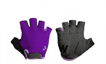 CUBE Natural Fit Damen Handschuhe Kurzfinger violet purple #11959
