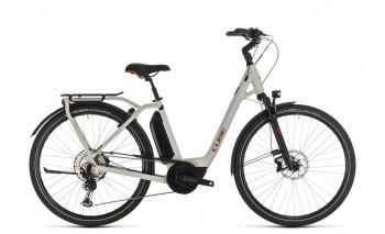 Cube Town Sport Hybrid EXC 500 grey´n´red 2020 58 cm / 332461