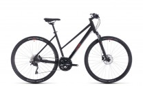 Cube Nature EXC black´n´red 2020 Trapez