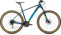 "Cube Aim Race blueberry´n´lime 2021 27.5: (14"") XS / 401410"