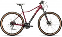 "Cube Access WS Exc darkberry´n´black 2021 - Damen MTB 425310 / 27.5: (16"") S"