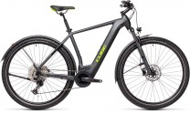 Cube Cross Hybrid Pro 625 Allroad iridium´n´green 2021 430202 / (58 cm) L