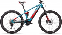 "Cube Stereo Hybrid 120 Race 625 blue´n´red 2021 435162 / 27.5: (15"") XS"