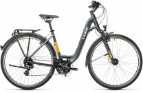Cube Touring grey´n´yellow 2021 Easy Entry
