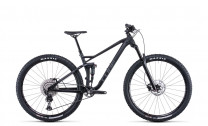 Cube Stereo 120 Race black anodized 2022