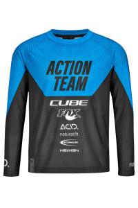 CUBE JUNIOR Trikot langarm X Actionteam #11147