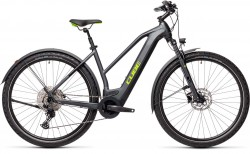 Cube Cross Hybrid Pro 625 Allroad iridium´n´green 2021 Trapez