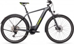 Cube Cross Hybrid Pro 625 Allroad iridium´n´green 2021