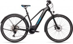 Cube Cross Hybrid Race 625 Allroad black´n´blue 2021 Trapez