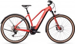 Cube Cross Hybrid Race 625 Allroad red´n´grey 2021 Trapez