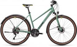Cube Nature EXC Allroad green´n´bluegreen 2021 Trapez