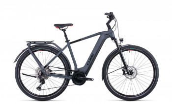 Cube Touring Hybrid EXC 625 grey´n´red 2022