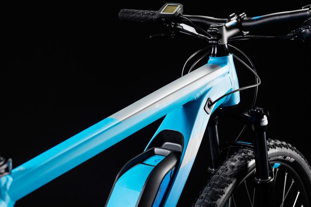 6aa11523cebf47 Cube Reaction Hybrid ONE reefblue …(Mj. 2018) E-Bike Mountainbike ...