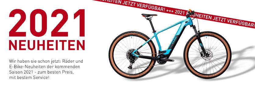 Cube Fahrräder 2021