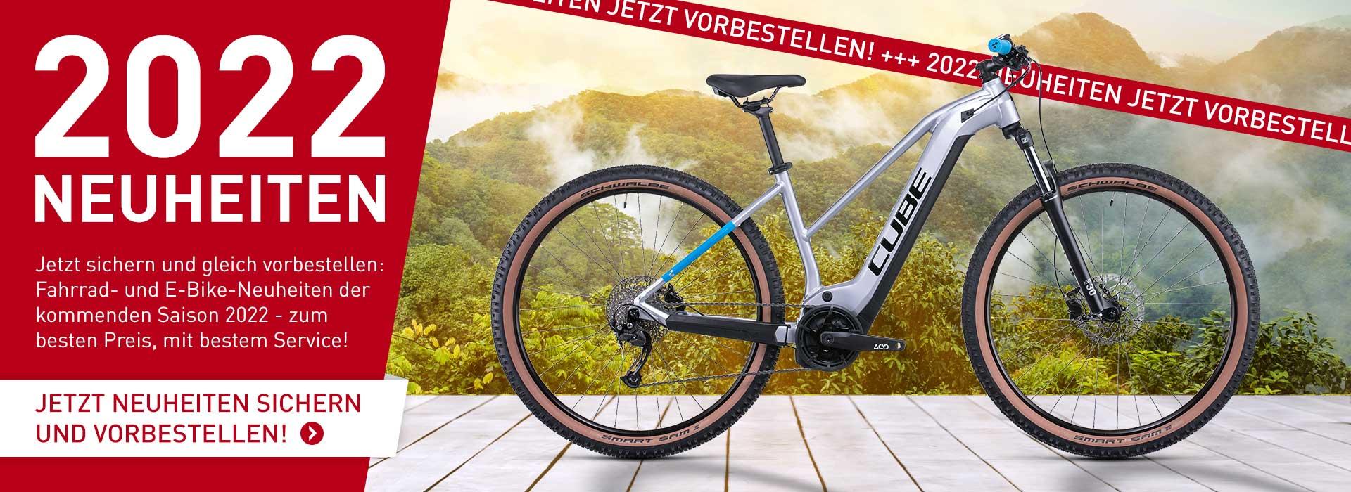 Cube Neuheiten Bikes 2022