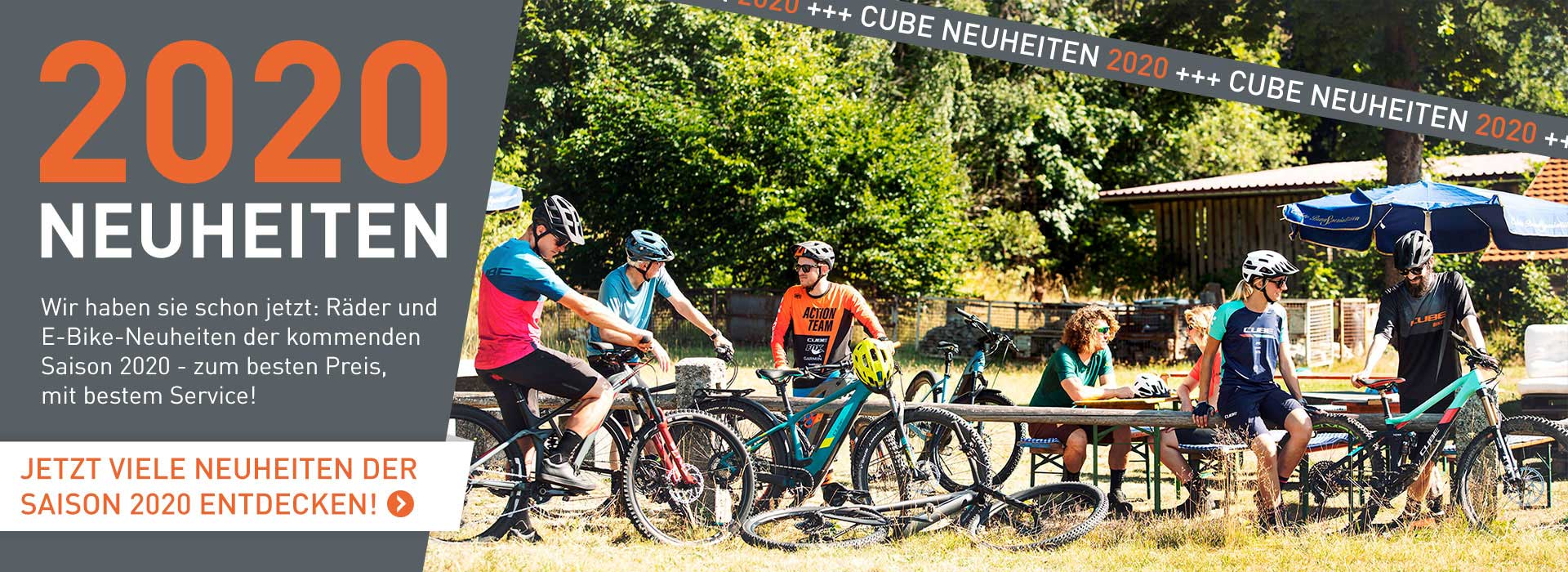 Cube Neuheiten Bikes