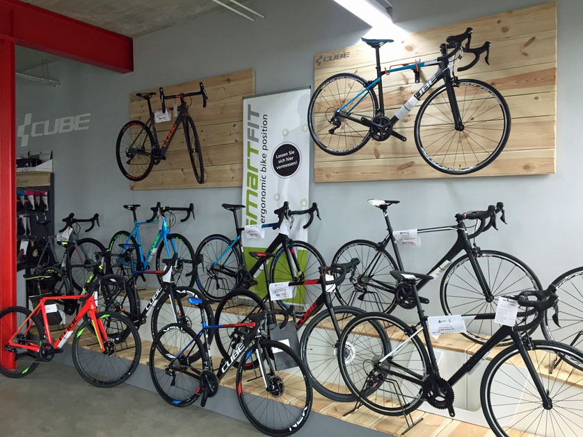 Cube Store Weiden - Über uns - laface-bikes.de –> Cube Store Weiden