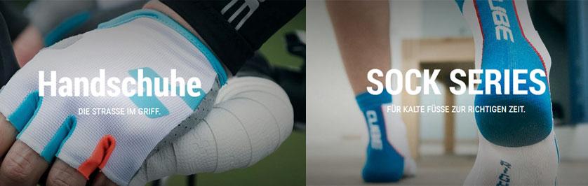CUBE Handschuhe / Socken